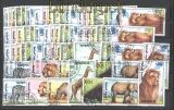 Mongolei 11 x Mi # 2293/99 Afrikanische Fauna gestempelt (29992)