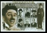 Antiqua und Barbuda Mi # 3791/96 postfrischer Kleinbogen Charlie Chaplin (35532)