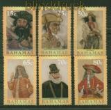 Bahamas Mi # 1135/40 Piraten postfrisch (35534)