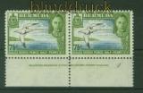 Bermuda Mi #  109 waagerechtes Paar Unterrand mit DZ 1 postfrisch (35535)