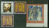 Ägypten Mi # 1087/90 mit 1088 b postfrisch Tut ench Amun (41249)