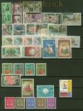 Algerien postfrisches Lot aus Mi # 378 bis 411 mit P 59/63 (41251)