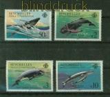 Seychellen Mi # 571/74 Wale postfrisch (41401)
