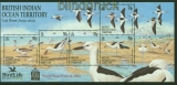 Britische Gebiete Indischer Ozean Mi # Block 17 postfrisch Vögel (41910)