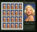 USA Mi # 2570 postfrisch Schmuckbogen Marilyn Monroe (35247)