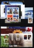 Kanada postfrische Ausgaben aus 2010 bis 2011 meist Blöcke (30767)