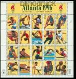 USA Mi # 2705/24 Olympiade Atlanta kplt. Zdr.-Bogen postfrisch (34560)