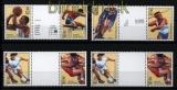 USA ex Mi # 2705/24 vier postfrische Zwischenstegpaare Olympiade Atlanta 1996 (30778)