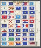 USA Mi # 1203/52 zehn postfrische kplt. Zdr.-Bögen 200 Jahre Unabhängigkeit (43440)