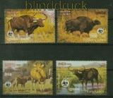 Kambodscha Mi # 823/26 WWF 1986 postfrisch (41423)