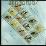 Kanada Mi # 1527/30 einheimische Vögel postfrischer Zdr.-Bogen (41966)