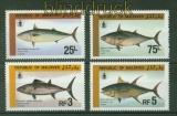 Malediven Mi # 1143/46 Tag des Fischers postfrisch (41425)