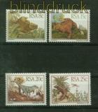 Südafrika Mi # 622/25 Prähistorische Tiere postfrisch (41404)