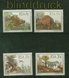 Südafrika Mi # 622/25 Prähistorische Tiere postfrisch (41405)