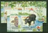 Philippinen Mi # Block 161/65 Flora und Fauna postfrisch (42164)