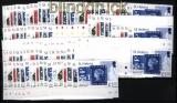 St. Helena 18 x Mi # 954/59 150 Jahre Briefmarken von St. Helena postfrisch  (30771)