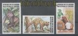 Kamerun Mi # 1019/21 Bedrohte Tiere postfrisch (43479)
