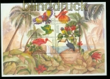 Guyana Mi # 7330/35 Tropische Vögel postfrischer Kleinbogen (35544)