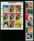 Paraguay Mi # 3811/17 Katzen postfrisch (41439)