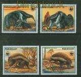 Paraguay Mi # 4225/28 Seltene Tiere postfrisch (41438)