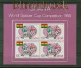 Ghana Mi # Block 22 postfrisch Fussball-WM 1966 (41253)