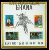 Ghana Mi # Block 40 postfrisch erste Mondlandung (41254)