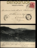 Deutsche Seepost Linie Bremen - La Plata sw-AK Gran Canaria 1902 Ship Letter London (31810)