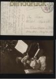 dt. Reich Schiffspost MSP # 162 SMS Elsaß 19.2.1915 (32226)