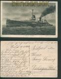 Marine-Schiffspost Minensucher M50 R1 Marine-Feldpost 1917 (27074)