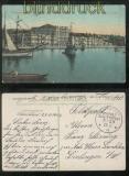 MSP # 29 SMS Schlachtkreuzer Goeben farb-AK farb-AK Constantinople 25.11.1914 (43724)