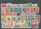 China kleine ungebrauchte / gestempelte Sammlung auf Steckkarten (45444)