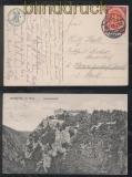 dt. Reich Mi # 110 a EF auf Ansichtskarte geprüft Infla Berlin (45722)