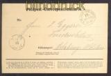 Norddeutscher Bund Feldpost-Correspondenzkarte 21.10.1870 (45729)