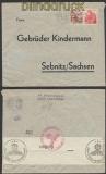 Schweiz Auslands-Zensur-Brief Solothurn 1941 Deutsche Zensur (44964)