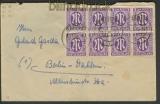 Bi-Zone Mi # 10 A (8) MeF Itzehoe 13.5.46 Berlin (23485)