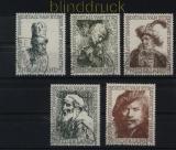Niederlande Mi # 672/76 gestempelt Sommermarken 1956 (33553)