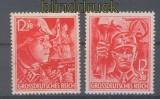 dt. Reich Mi # 909/10 Parteiorganisationen gezähnt postfrisch (46103)