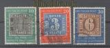 Bund Mi #  113/15 gestempelt 100 Jahre Deutsche Briefmarken (46087)