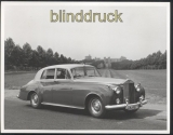 Rolls-Royce Original Presse Fotos 1959 Silver Cloud II Saloon (45278)