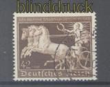 dt. Reich Mi # 747 Braune Band 1940 gestempelt (46157)