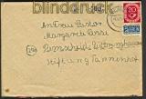 Bund Landpoststempel Jülich-Süd 1952 Fernbrief (21890)