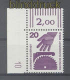 Berlin Mi # 404 A DZ postfrisch mit Druckerzeichen 10 (46210)
