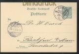 DSWA GSK P 5 gestempelt K u b a s 1901 (46520)
