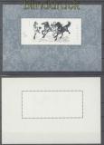 China Mi # Block 12 postfrisch Pferdeblock  (47035)