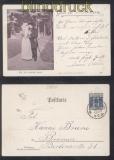 Bremen Privat-Beförderungs-Anstalt Mi # 2 EF auf Postkarte 1899 (47139)