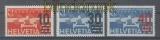 Schweiz Mi #  291/93 postfrisch Flugpost-Aufdruckmarken 1936 (47237)