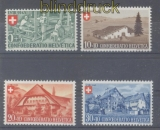 Schweiz Mi #  460/63 postfrisch Berufe und Landhäuser (47239)