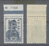 dt. Besetzung 2. WK Litauen Mi # 3 vom Oberrand mit Bogennummer postfrisc(47399)