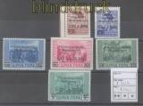 dt. Reich Besetzung 2. WK Montenegro Mi # 20/25 postfrisch (47663)