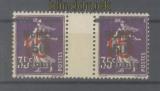 Memel Mi #  48 ZW postfrisch waagerechtes Zwischenstegpaar (47648)